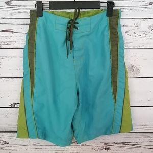 Other - Men's Swim Trunks Teal and Green BR